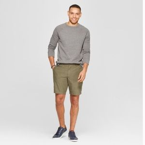 "Goodfellow & Co Flat-Front 9"" Linden Chino Short"